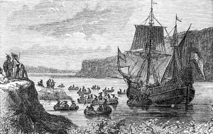Henry Hudson, working for a Dutch company, discovering the island of Manhattan changed sailing the Atlantic and the lives of the Native Americans forever.